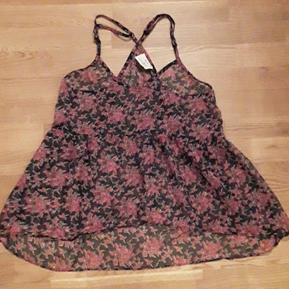 BNWT floral Urban Outfitters tank